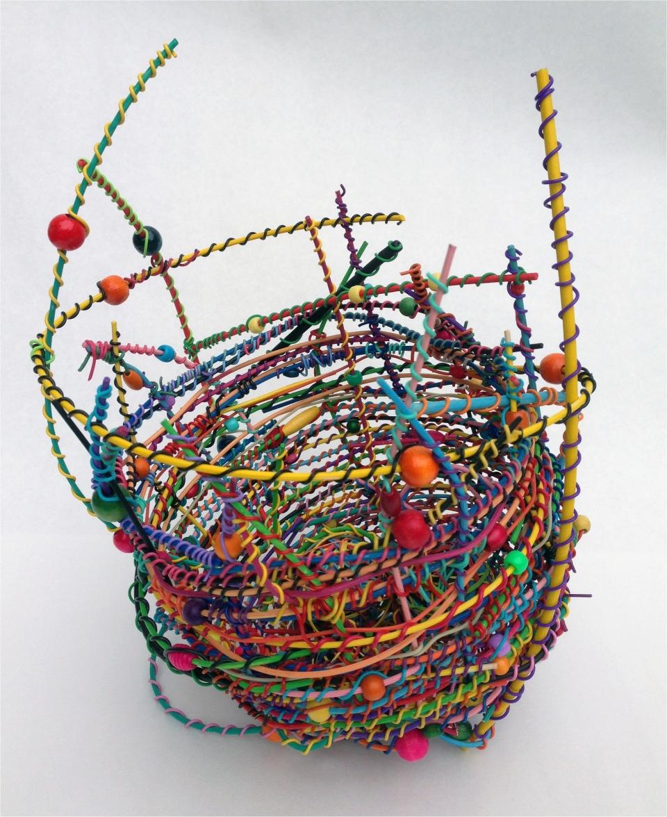 Whimsical Spirit Basket - 16'' ht. x 10