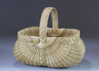 Split White Oak Egg Basket by Leona Waddell